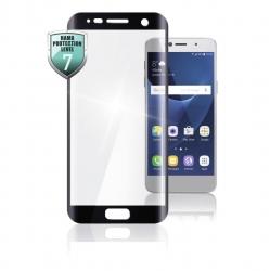 HAMA Full-Screen-Schutzglas für Samsung Galaxy S8, Schwarz