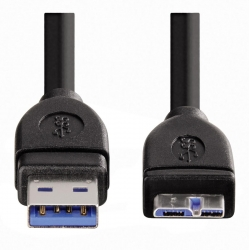 HAMA Micro-USB-3.0-Kabel, geschirmt, 0,75 m