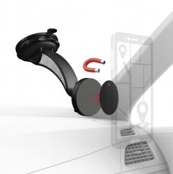 "HAMA Uni-Smartphone-Halter ""Magnet"", mit Saugnapf"