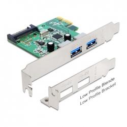 Delock PCI Express Karte > 2x extern USB 3.0