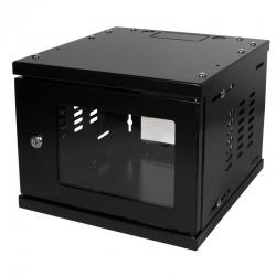 """LogiLink 10"""" SOHO Wandgehäuse 4HE 312x300mm,montiert,schwarz"""