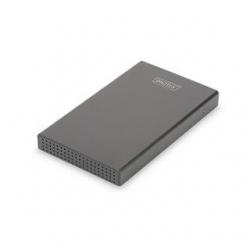 """DIGITUS 2,5"""" SDD/HDD-Gehäuse SATA 3 USB 3.1 Type-C"""