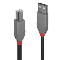 Lindy USB 2.0 Typ A an B Kabel, 5m