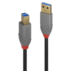Lindy USB 3.0 Typ A an B Kabel 0,5m