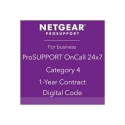 Netgear ONCALL 24X7 CATEGORY 4/1 YR