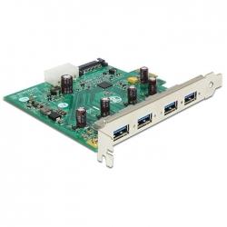 Delock USB 3.0 PCI Express Karte zu 4 x extern Type-A
