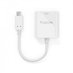 PureLink USB-C auf HDMI Adapter 4K60 0,10m weiß
