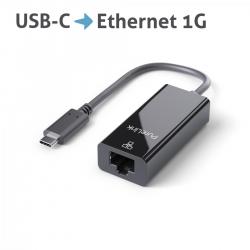 PureLink USB-C auf Ethernet Adapter schwarz
