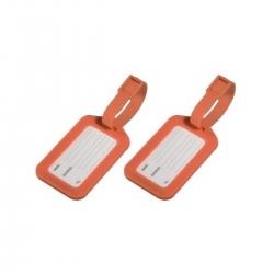 HAMA Gepäckanhänger 2er-Set Orange