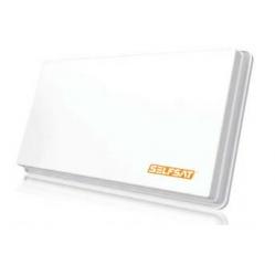 Selfsat H30 D4+ - Flachantenne für  4 Teiln., inkl Fensterh.