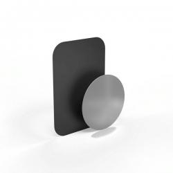 HAMA Ersatz-Metallplatten für Universal-Smartphone-Halter