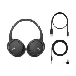 Sony WH-CH700N schwarz - Kopfhörer mit Mikrofon