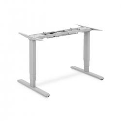 DIGITUS elek. Höhenverstellbares Tischgestell - Grau/Silber