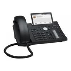 Snom D385 - VoIP-Telefon Schwarz Blau