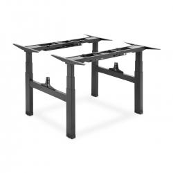 DIGITUS Elektrisch höhenverstellbares Doppel-Tischgestell