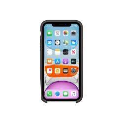 Apple Zubehör iPhone 11 Silikon Hülle Schwarz