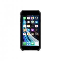 Apple Zubehör iPhone SE Silikon Hülle Schwarz