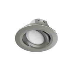 HAMA WiFi-LED-Einbaustrahler, Satin-Nickel