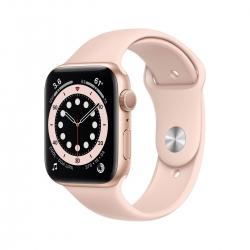 Apple Watch S6 Alu 44mm Gold Sportarmband sand