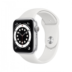 Apple Watch S6 Alu 40mm Silber Sportarmband we