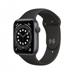 Apple Watch S6 Alu 40mm SpaceGrau Sportarmband