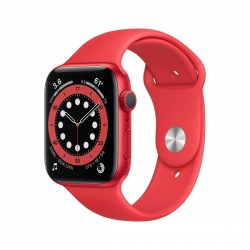 Apple Watch S6 Alu 40mm Rot Sportarmband PRODU