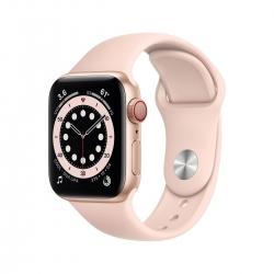 Apple Watch S6 Alu 40mm Cellular Gold sandrosa
