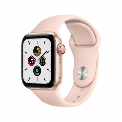 Apple Watch SE Alu 44mm Cellular Gold sandrosa