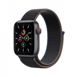 Apple Watch SE Alu 40mm Cellular SpaceGrau Spo