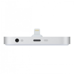 Apple Zubehör iPhone Lightning Dock Silber