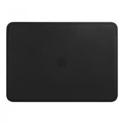 Apple Zubehör MacBook Pro/Air 13 Lederhülle Schwarz