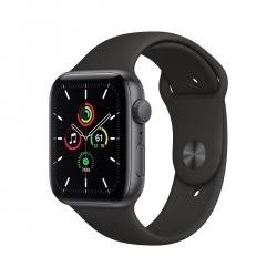 BWARE Apple Watch SE Alu 44mm SpaceGrau Sportarmband