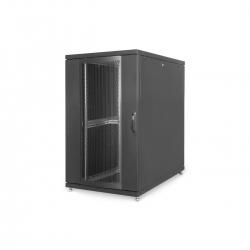 DIGITUS 26HE Serverschrank, 1260x800x1000 mm, Schwarz,