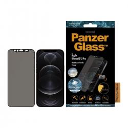 PanzerGlass Apple iPhone 12/12 Pro Case CamSlider, schw.