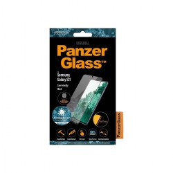 PanzerGlass Samsung Galaxy S21 FP Case Friendly, schw. AB