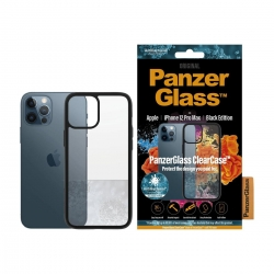 PanzerGlass ClearCase iPhone 12 Pro Max - Black Edition