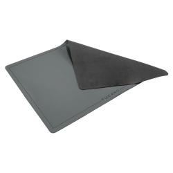 TUCANO Schreibtischunterlage 67x42x0.3 cm dunkel grau