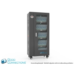 Good Connections Tablet-Ladewagen bis zu 65 Geräte schwarz