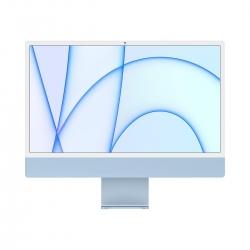 """Apple iMac 24"""" Retina 4.5K M1 Chip 8-Core CPU/GPU 256GB Blau"""