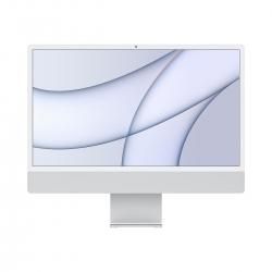 "Apple iMac 24"" Retina 4.5K M1 Chip 8-Core CPU 256GB Silber"