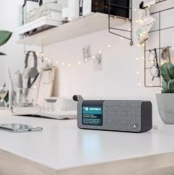 HAMA Digitalradio DR200BT, FM/DAB/DAB+/Bluetooth/Akkubetrieb