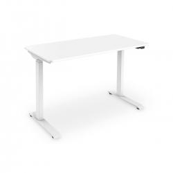 DIGITUS elektrisch höhenverstellbarer Schreibtisch weiß