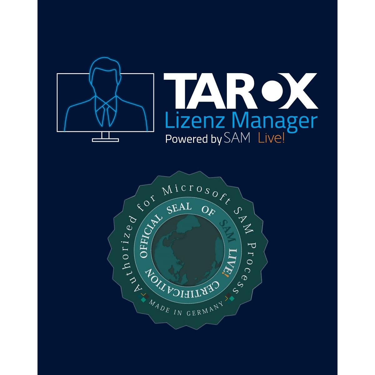 TAROX Lizenz Manager Starter Paket #    1- 199 Devices inkl.