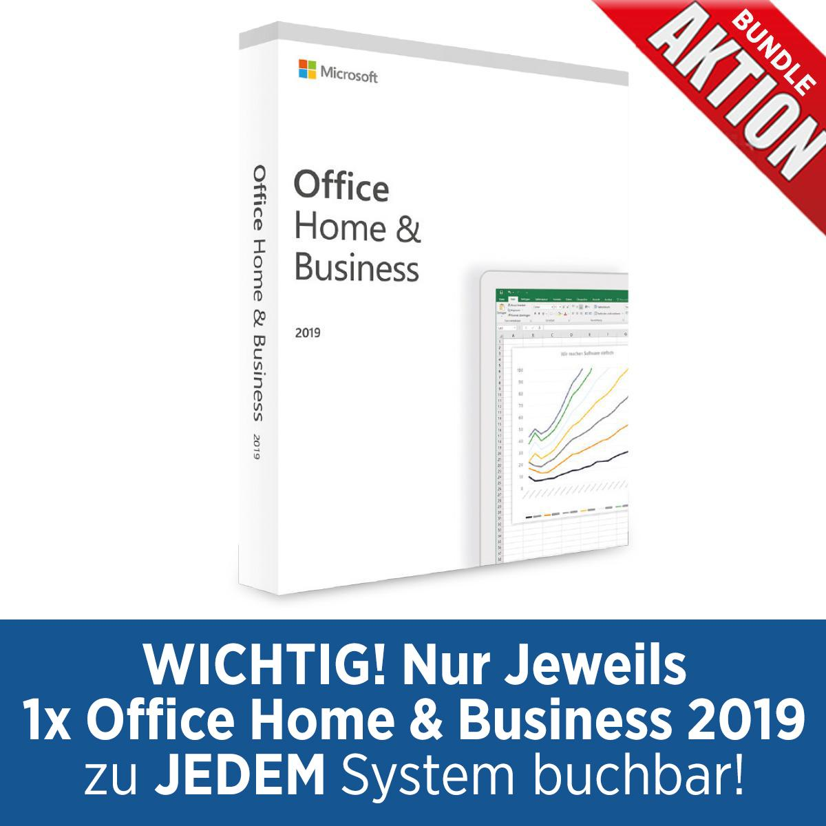 Bundle Microsoft Office H&B 2019 DE